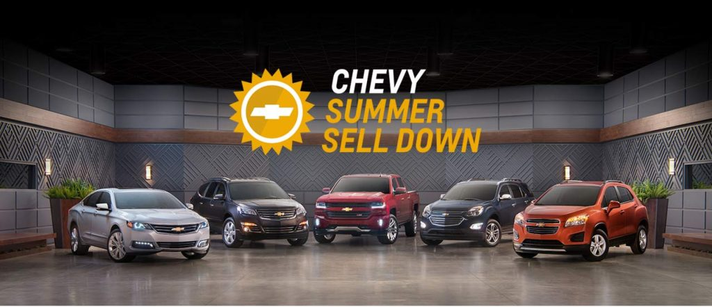 Chevy Summer Sell Down