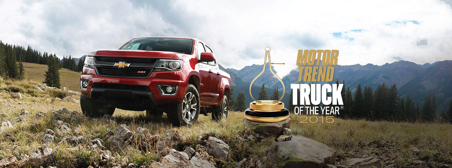 Colorado MotorTrend Truck of the Year 2015