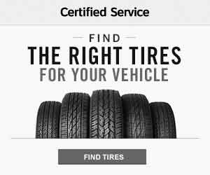 30 Day Price Match Guarantee on Tires.  Certified Service.
